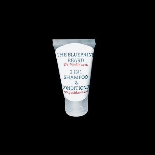 BLUEPRINT BEARD WASH! 2N1 SHAMPOO & CONDITIONER