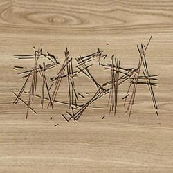 Rotulación en madera La Raspa