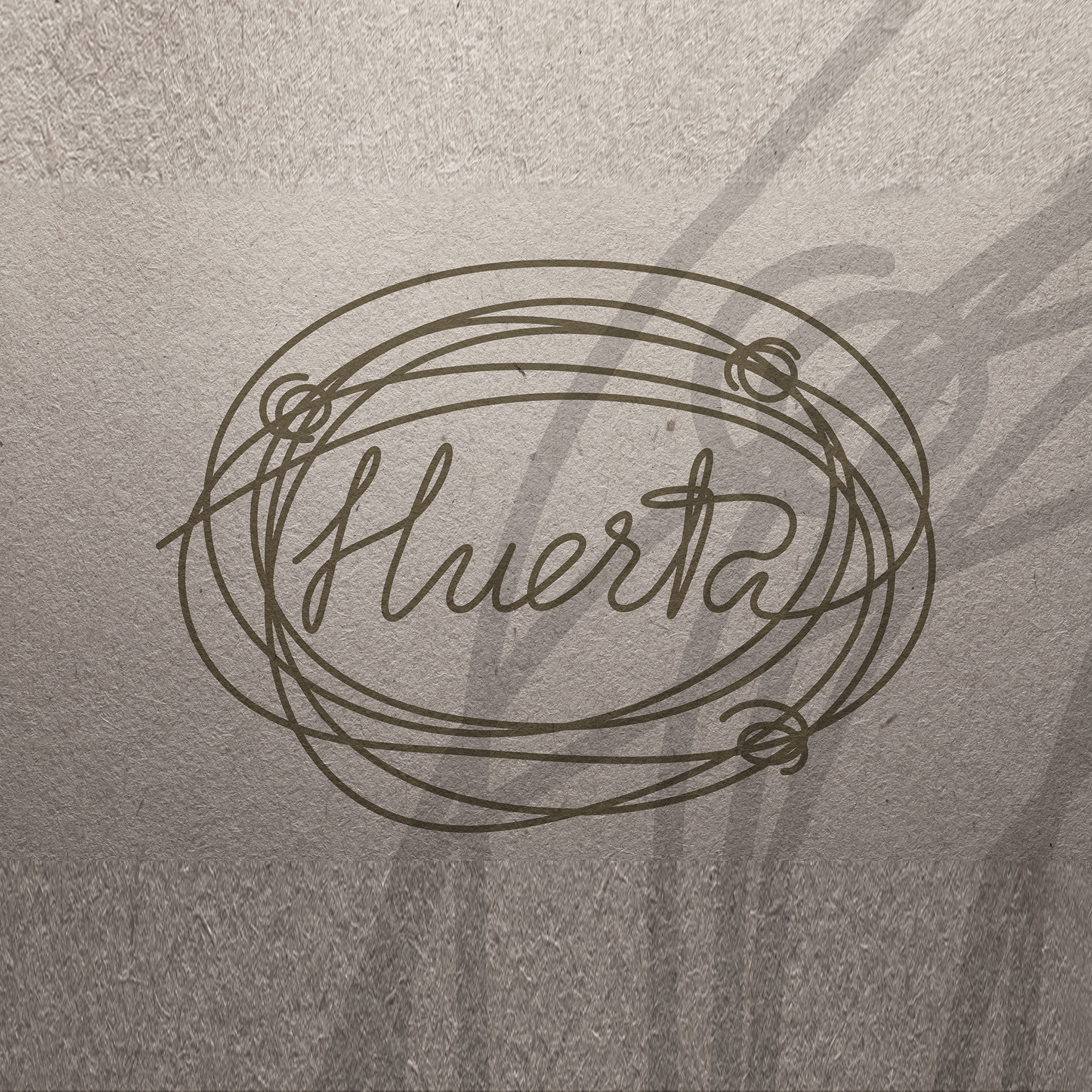 Aplicación en papel La Huerta