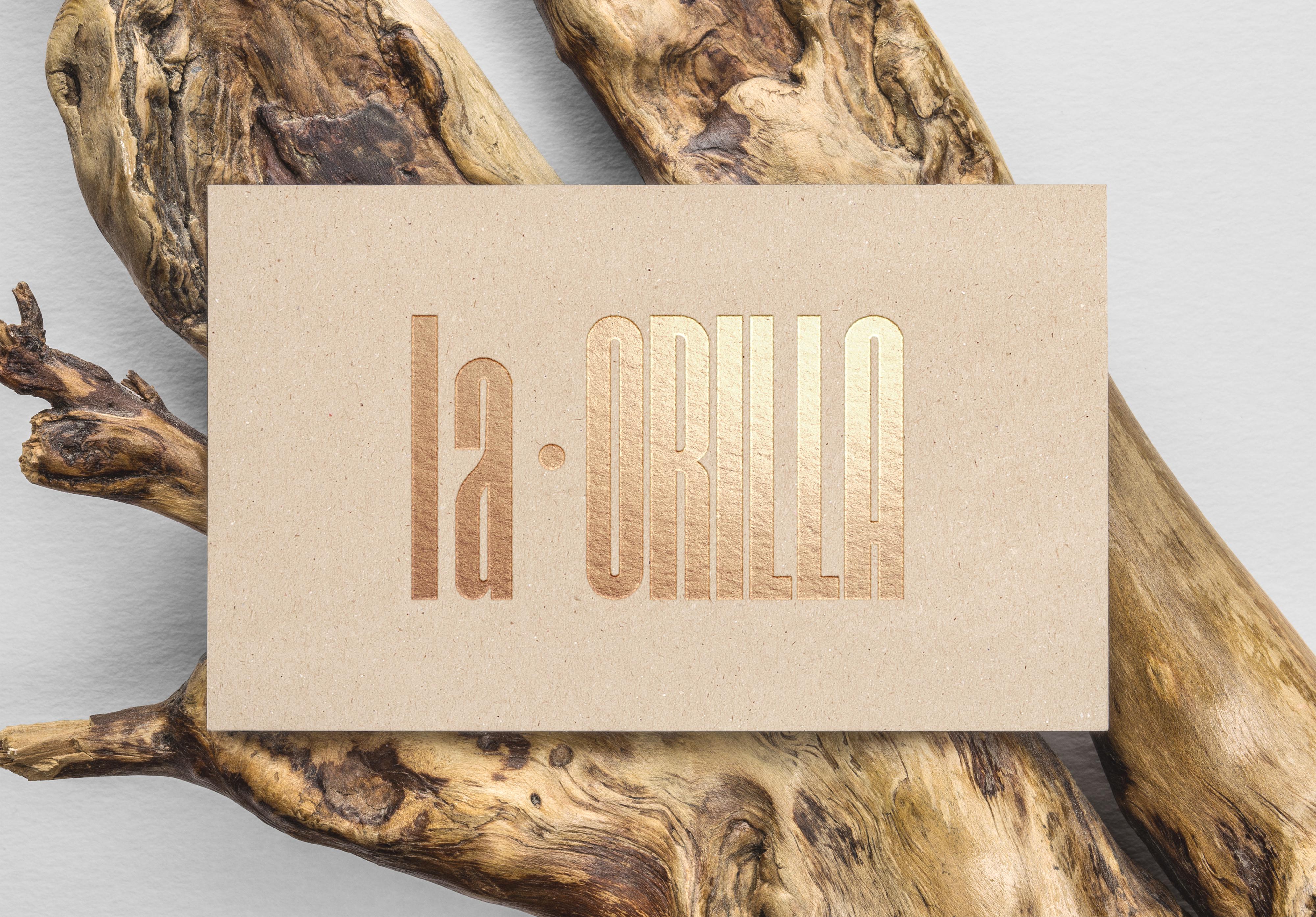 Gold Foil B-Card MockUp