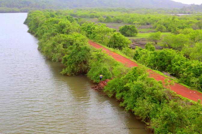 7.30 Water barrier at Mithbav creek