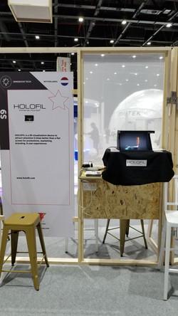 HOLOFIL @ Gitex 2018 Dubai