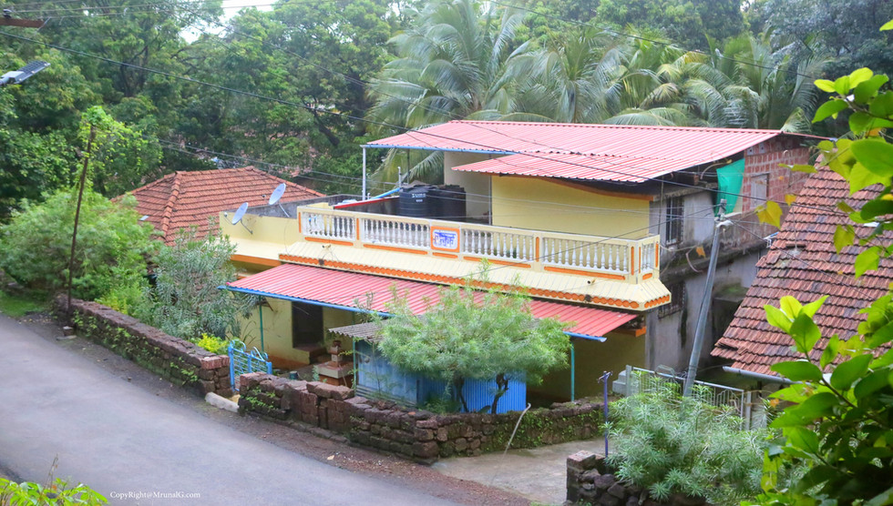 An old house in the main Devgad area.