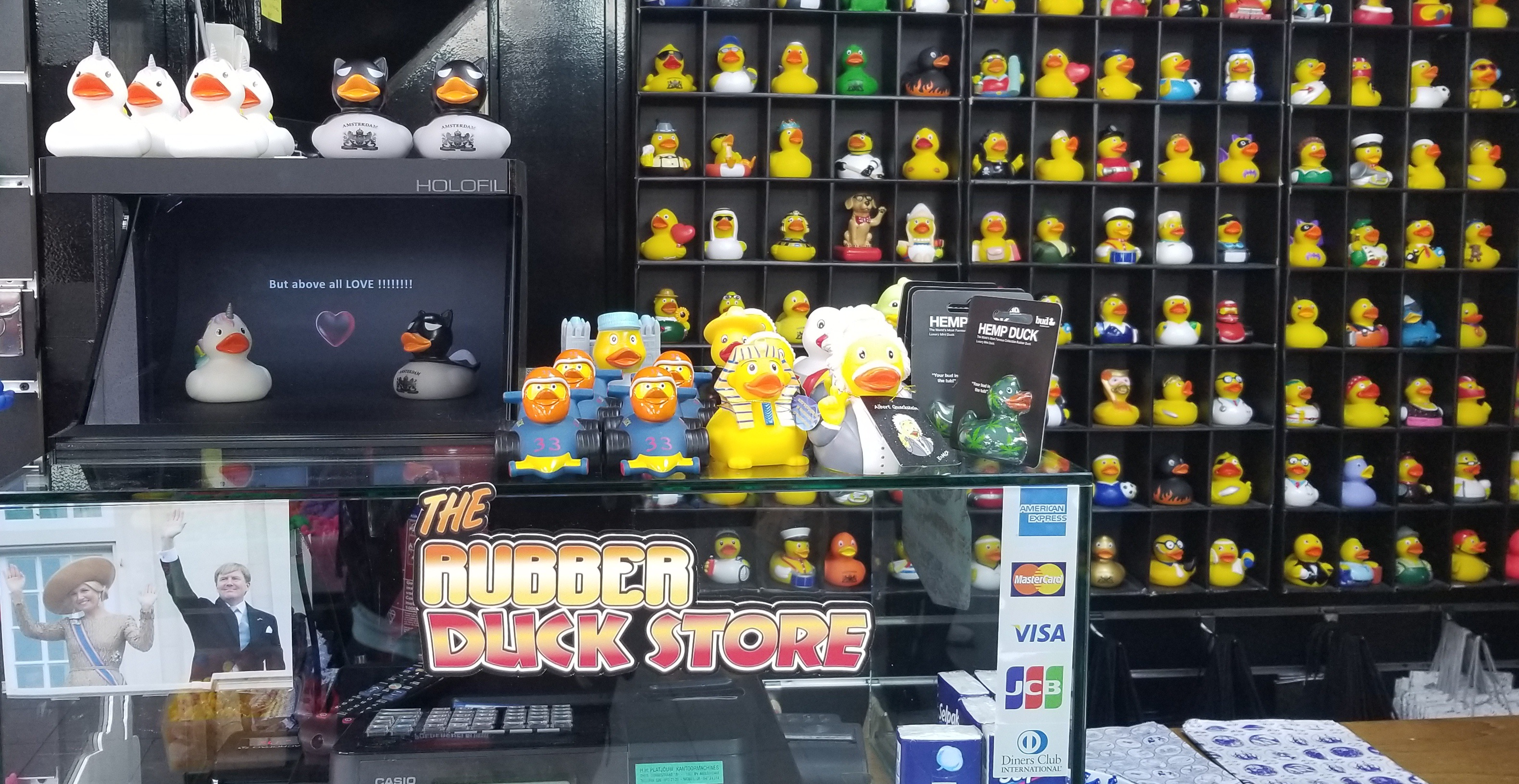 The Rubber Duck Store Amsterdam
