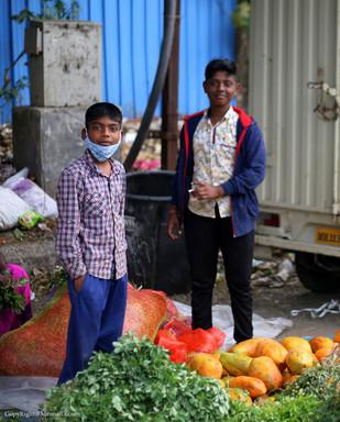Farmer kids