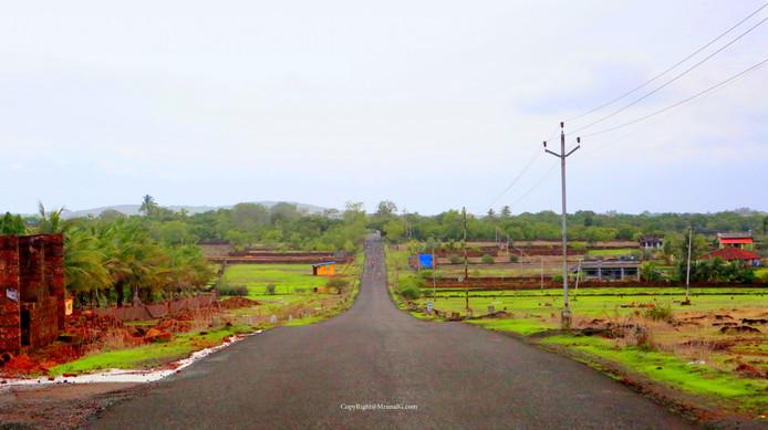 Devgad-Nipani highway near Talebajar