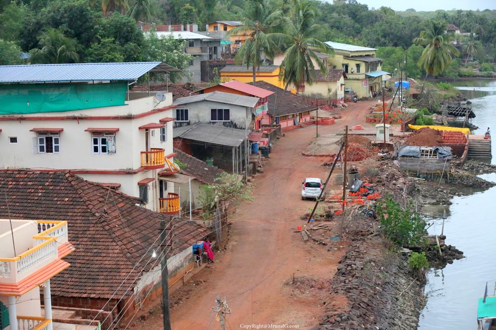 Vadatar village internal road