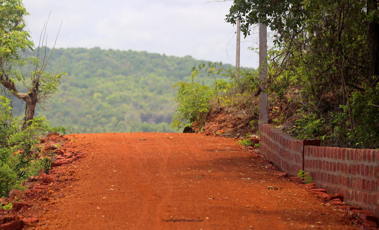 Malai beach road.