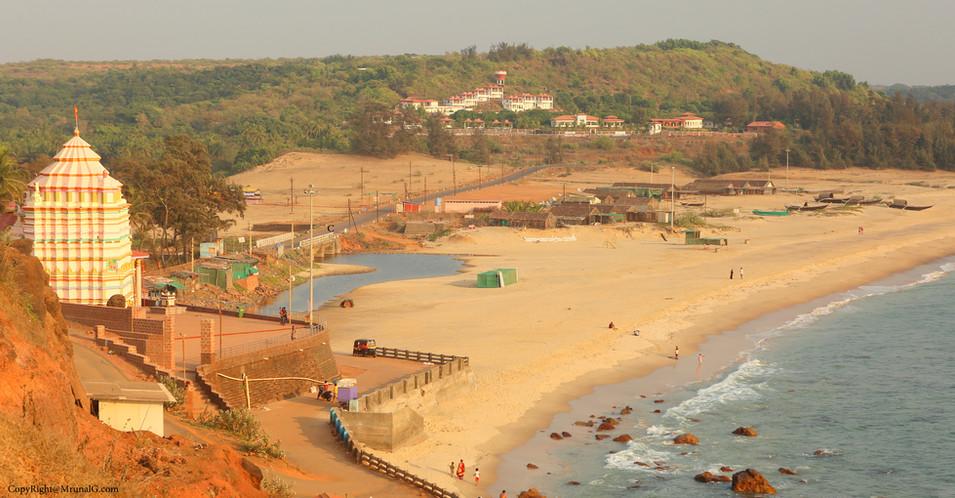 Kunkeshwar temple at the Kunkeshwar beach