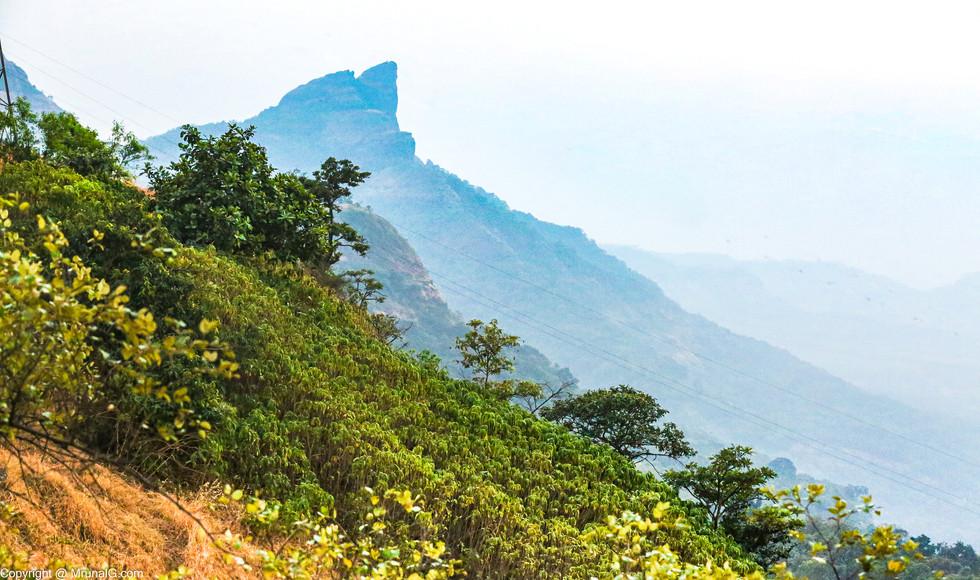Dukes nose cliff at Khandala