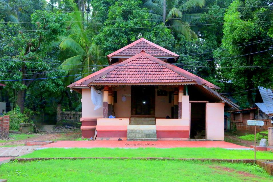 Temple at Rameshwar temple campus Mithbav
