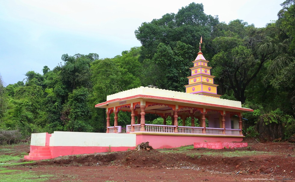 Akari Bramhan temple on route to talavade water fall route to tembvali near Talebajar