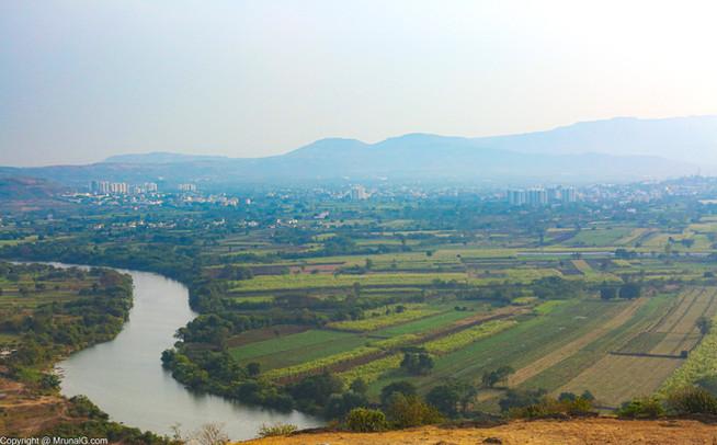 Mula river view near Chande village