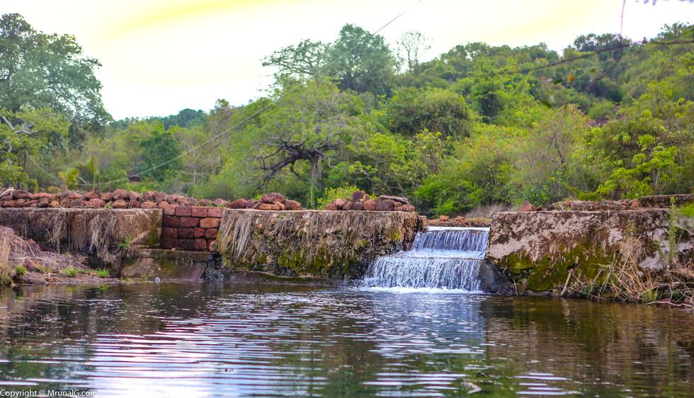 7.0 Water stream near Vimleshwar temple area surroundings