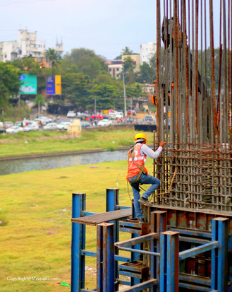 Pune metro work under progress