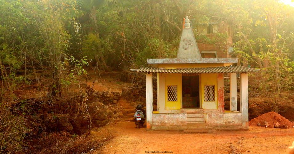 Hanuman temple in Taramumbari