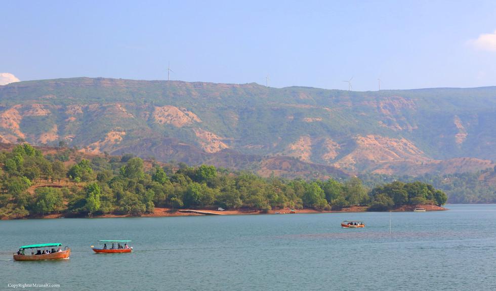Tapola backwaters due to Koyna dam