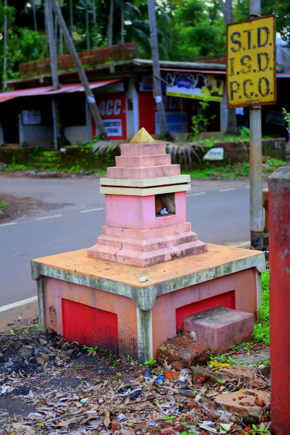 Tulsi Vridavan at Rameshwar temple campus Mithbav