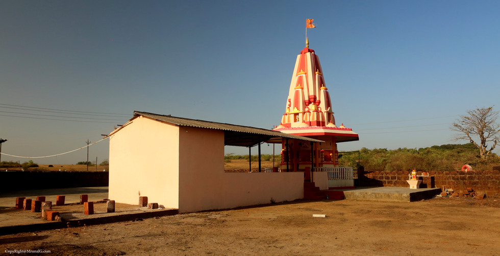 Temple on route to Padel from Vada Devgad