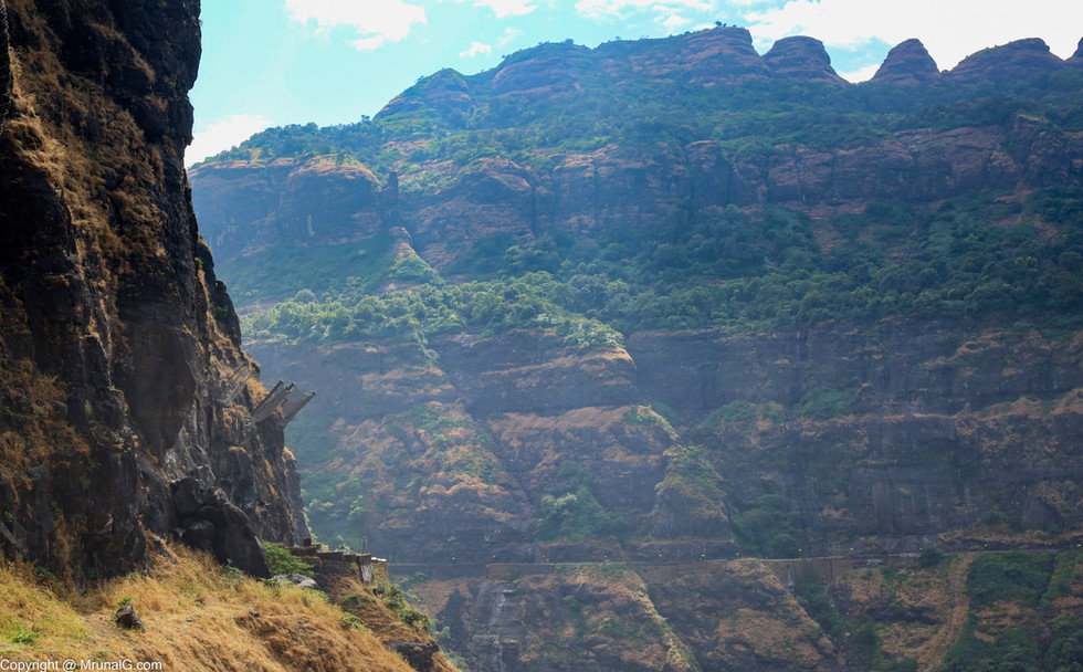 Malshej ghat hills