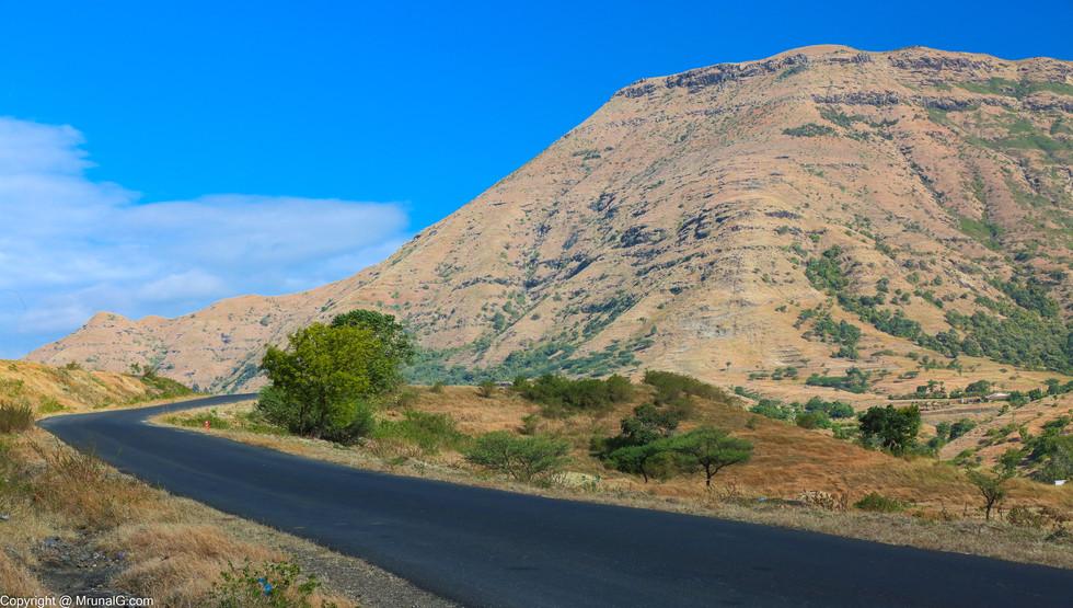 Mountains near Junnar area