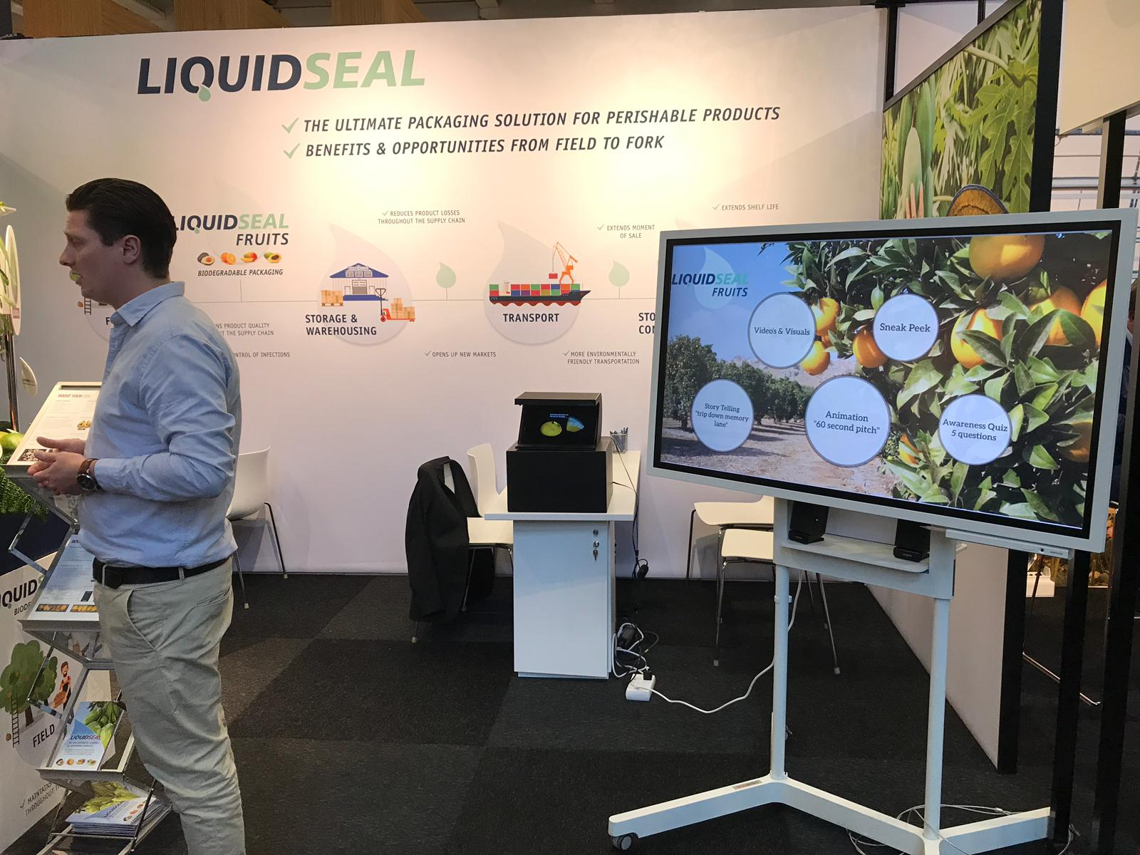 LiquidSeal Fruit exhibition