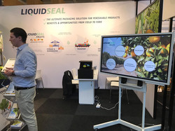 LiquidSeal Fruit exhibition