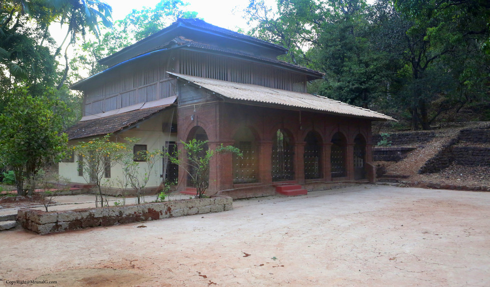 An old house in one of the villages where no one lives at the moment as the owners live in the city now.