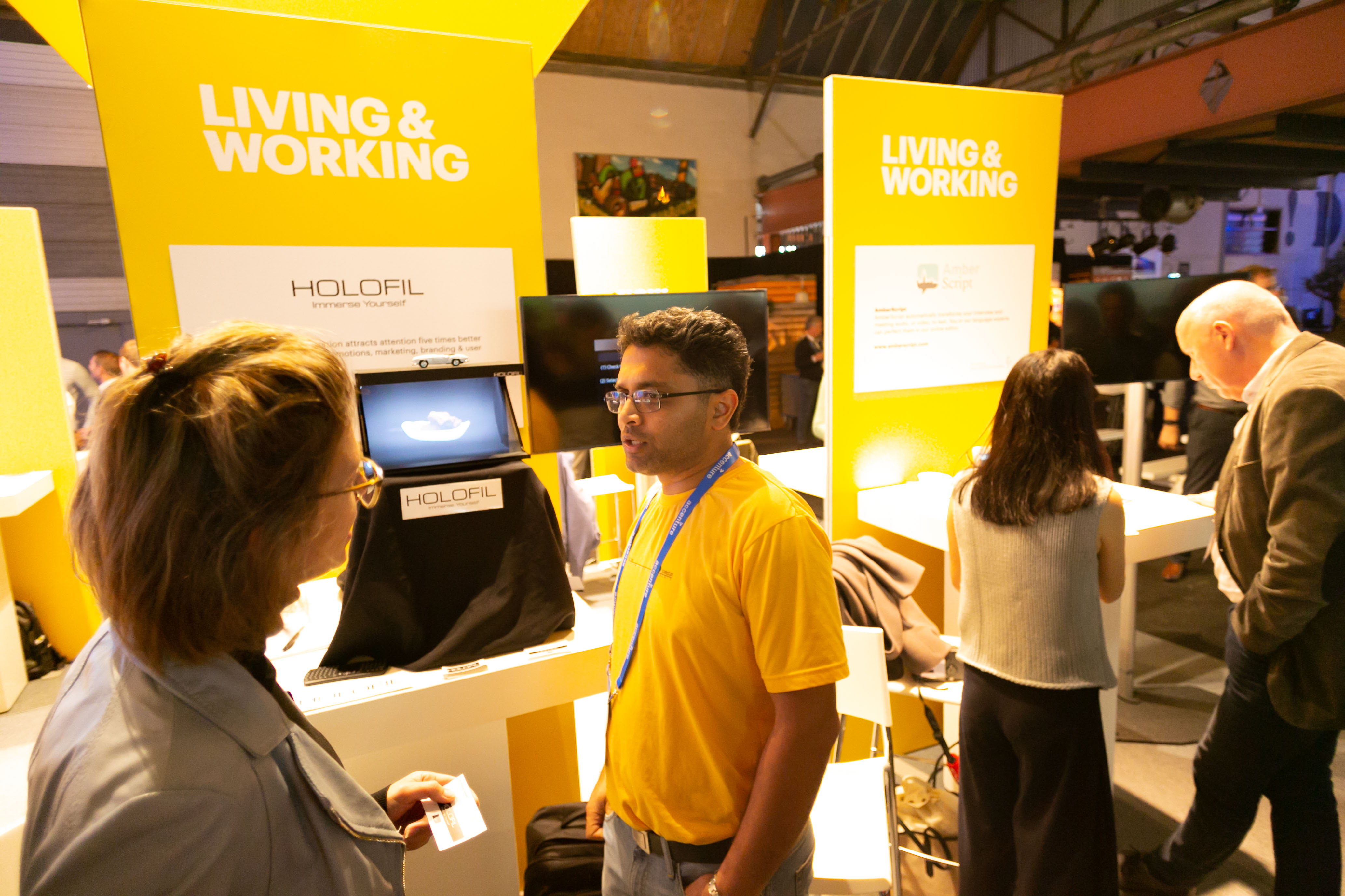 HOLOFIL @ Accenture Innovation award