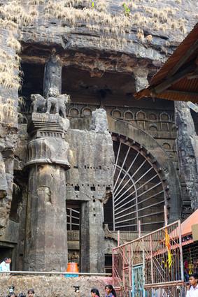 Karla buddhist caves