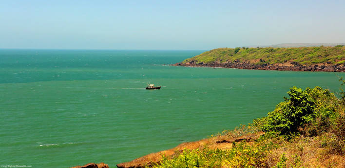 7.16 The waters next to Devgad lighthouse entrance to Devgad port
