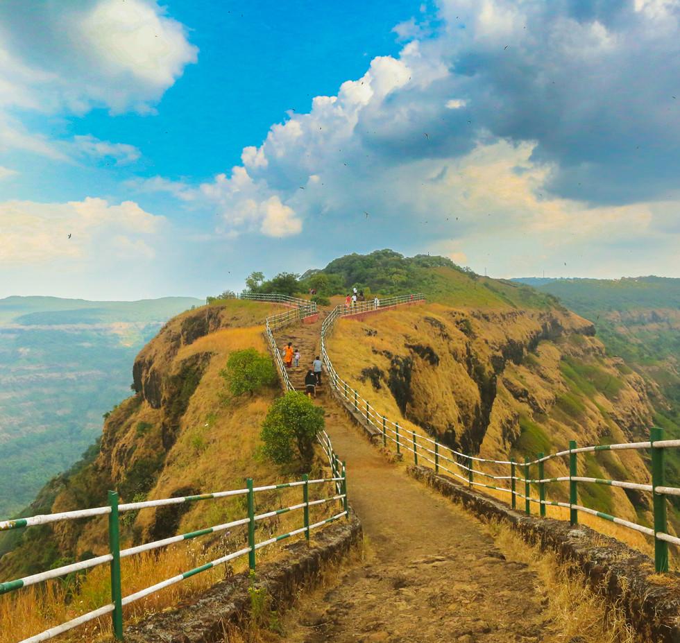 The elephant point Sahyadri mountain ranges at Mahabaleshwar