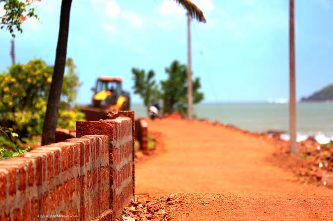Malai road to crematorium