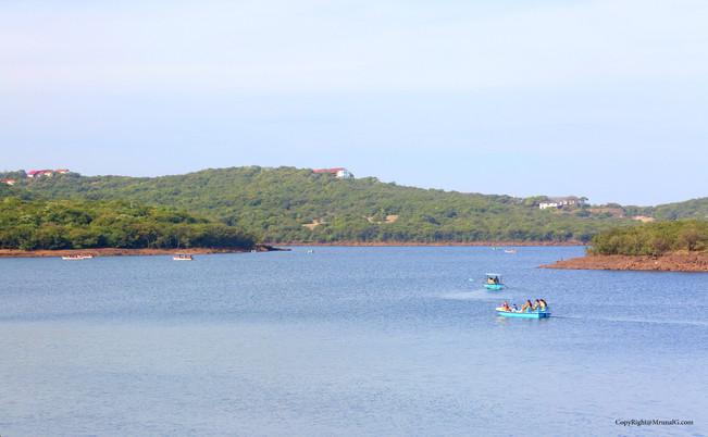 Boating at the Venna lake Mahabaleshwar