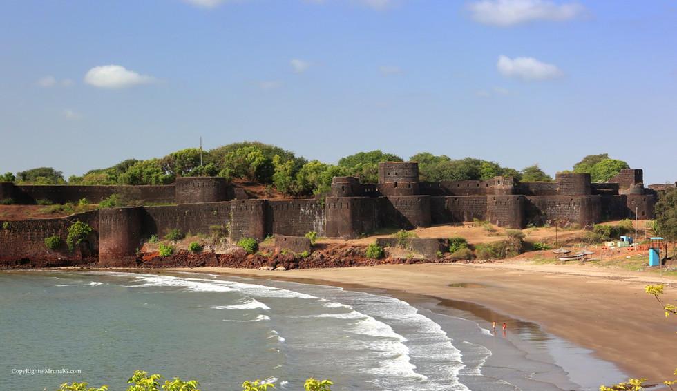 3.23 The Vijaydurge fort beach