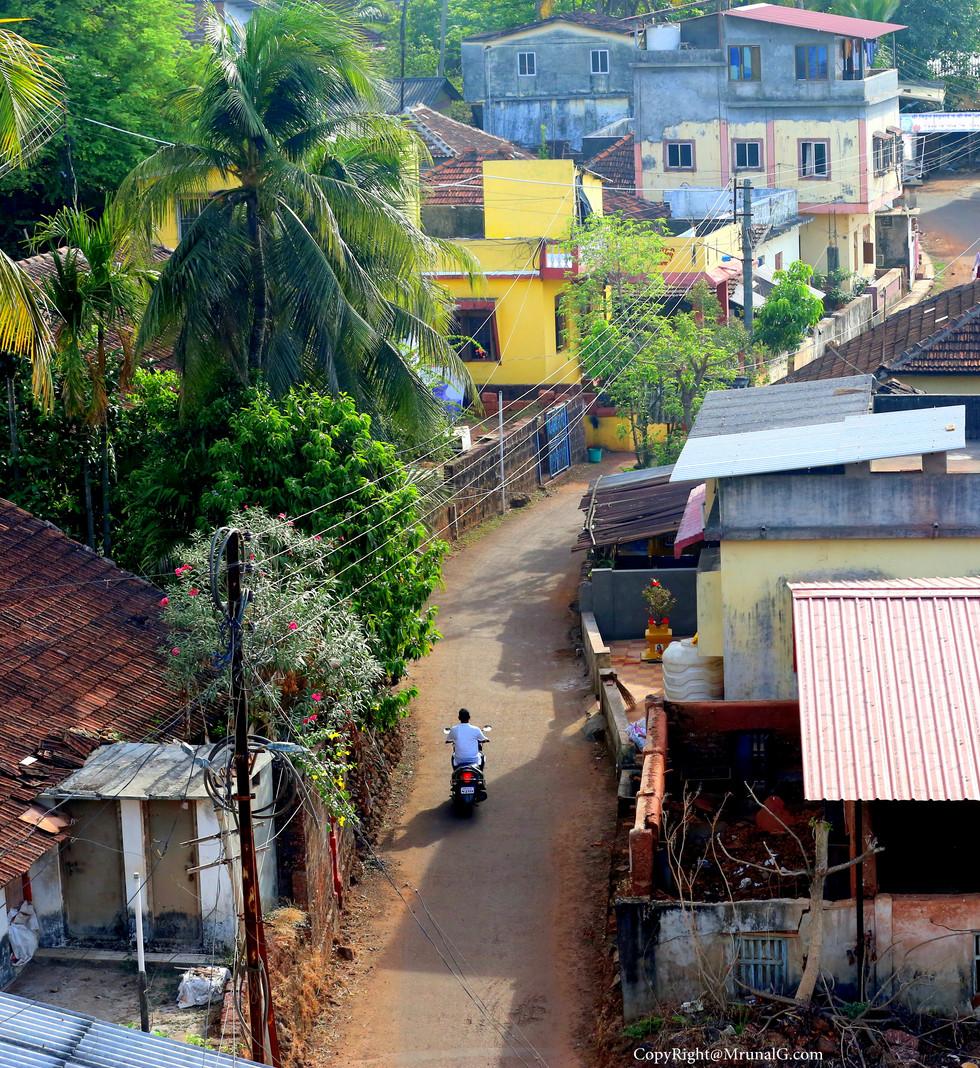 Houses in Taramumbari village