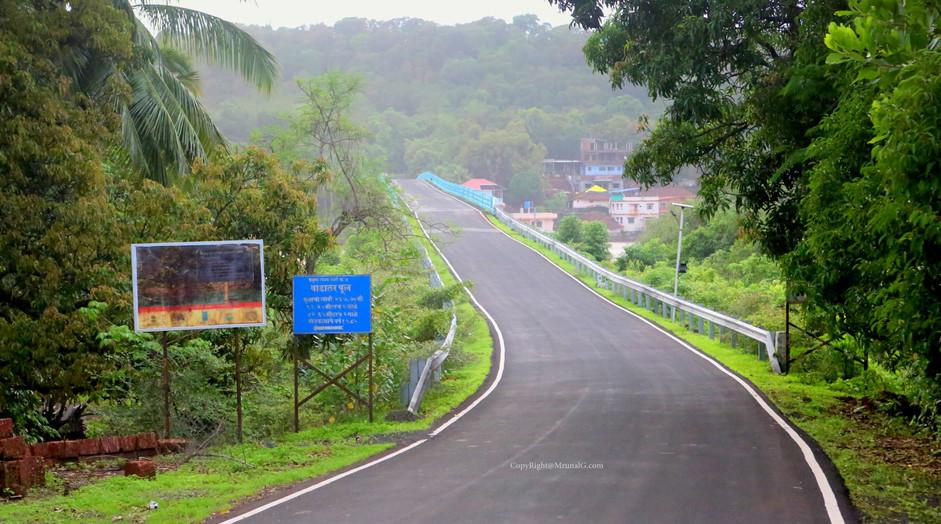 Road to Vadatar bridge