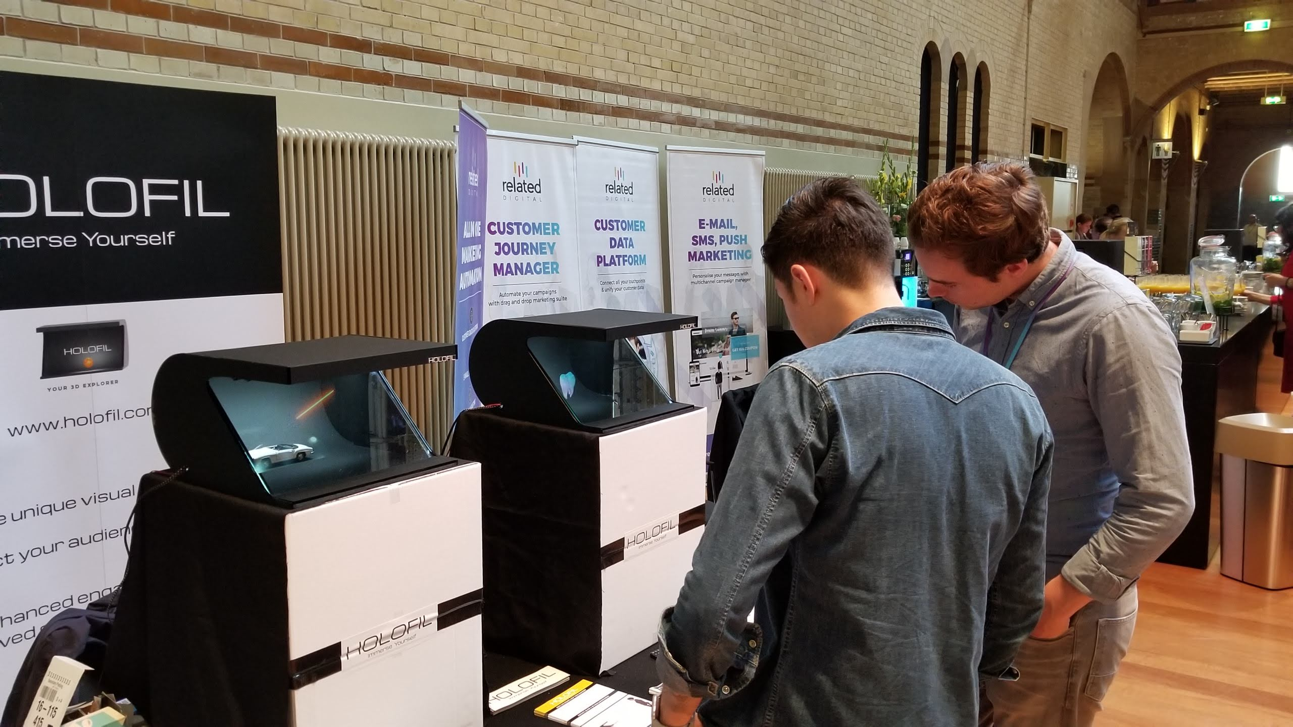Crowds at DMWF Amsterdam