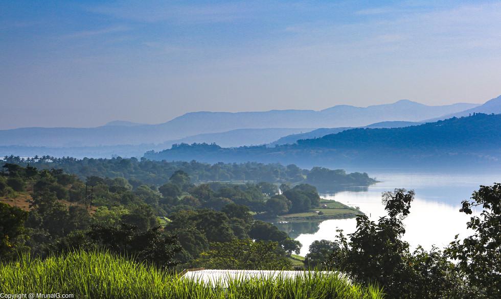 Khadakwasla dam backwaters