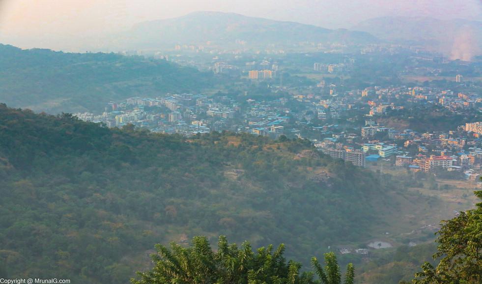 Khopoli view from Khandala