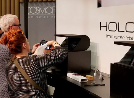 Holographic branding using Holographic devices.