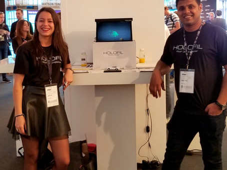 HOLOFIL @ TNW 2018 conference