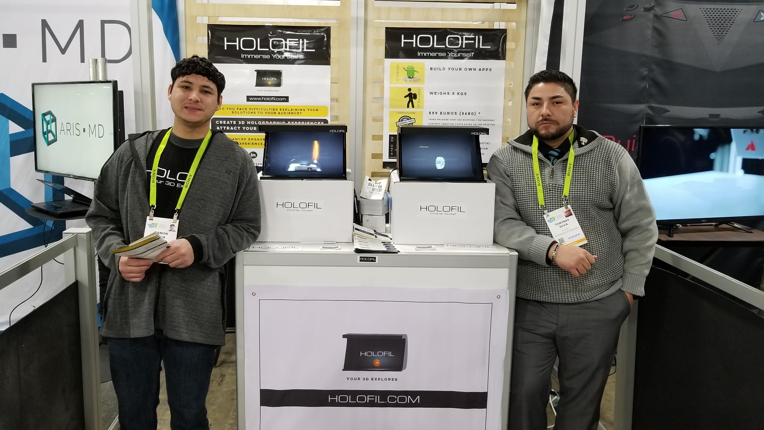 CES 2019 team setup Las Vegas