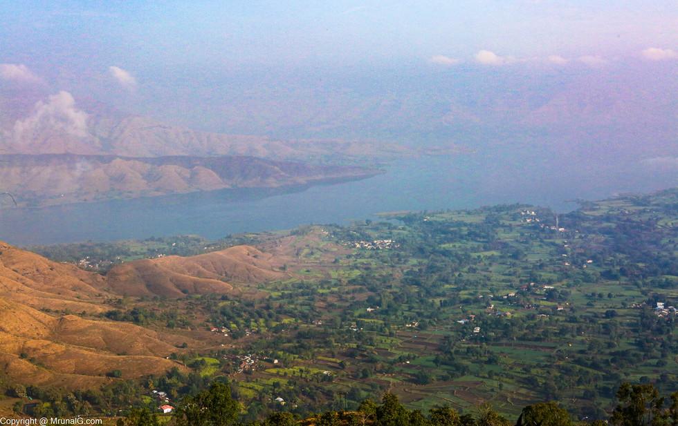 Dhom dam backwaters Panchgani