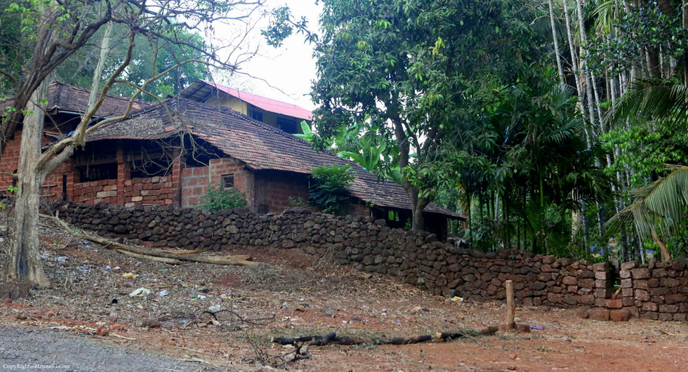 Typical rural houses in villages.