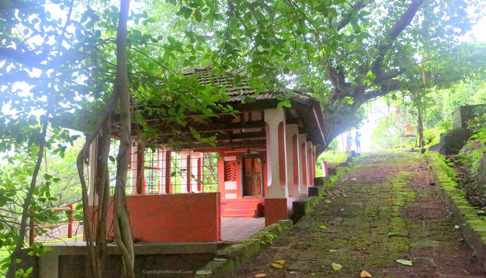 Hanuman temple in Devgad market area