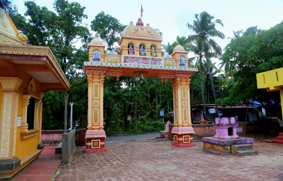 Rameshwar temple entrance Mithbav
