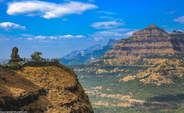 Malshej ghat Sahyadri mountain peaks