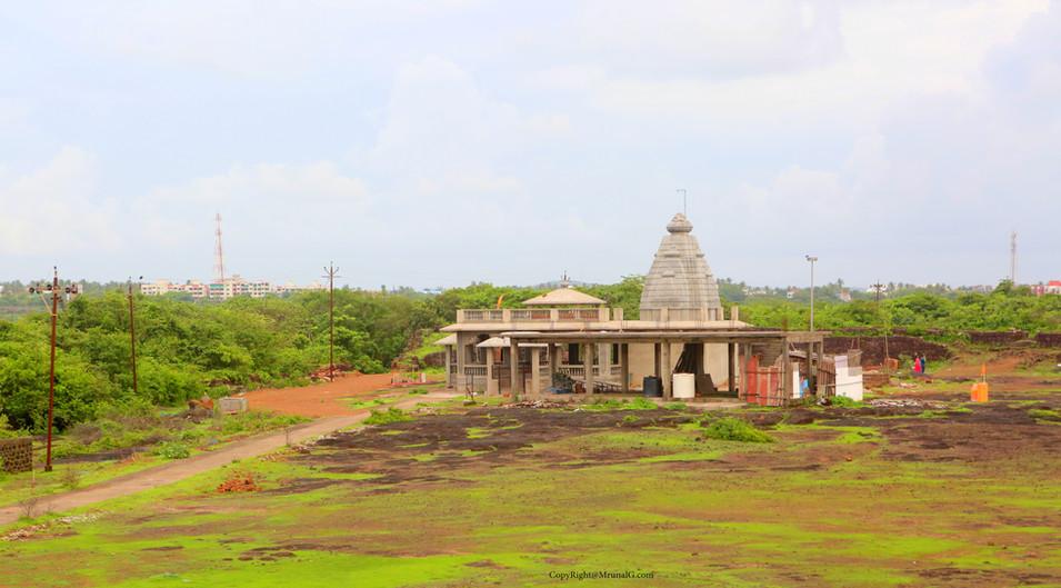 Ganesh temple at Devgad fort area