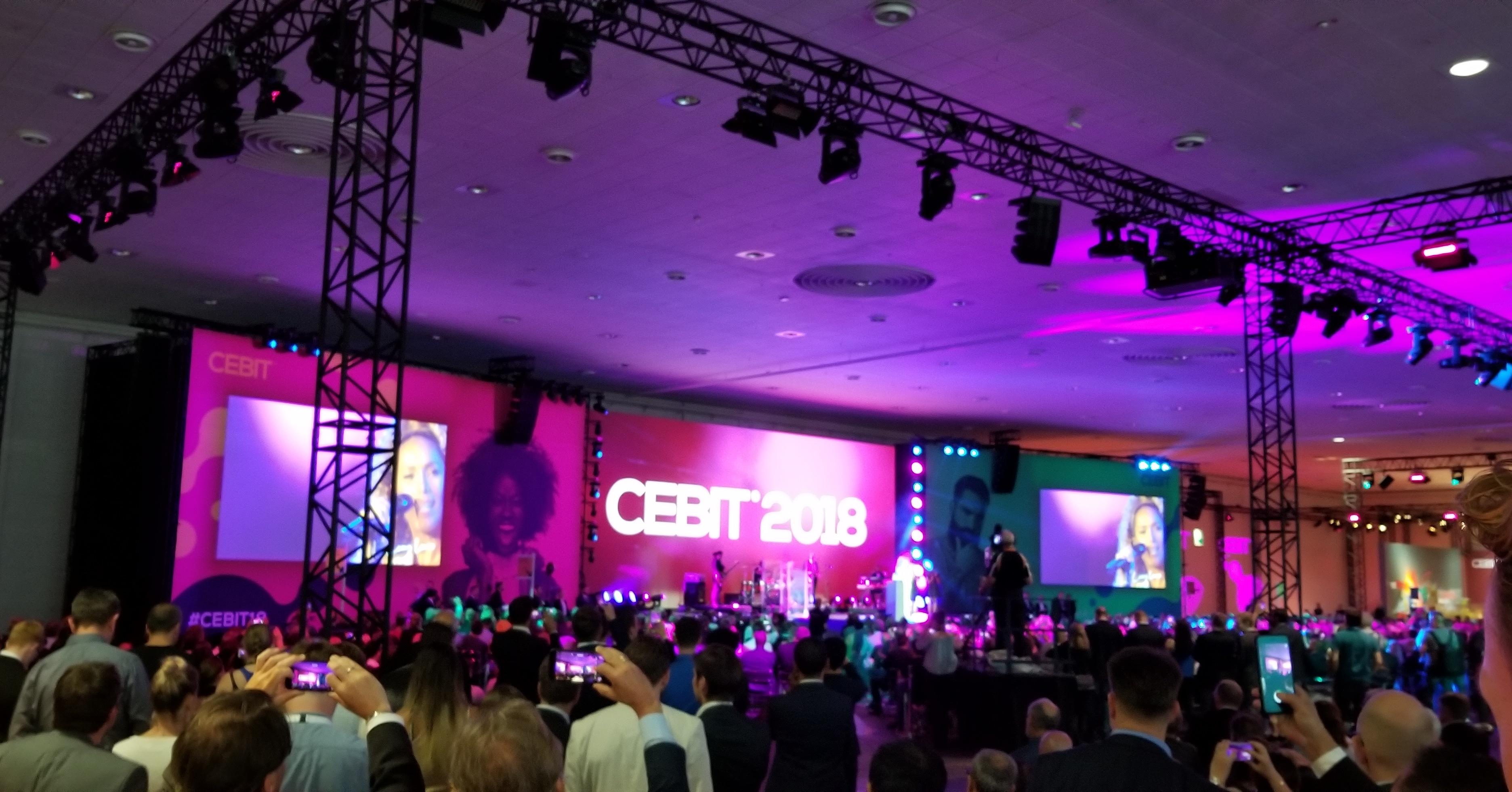 CEBIT welcome night